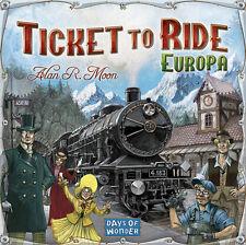 TICKET TO RIDE EUROPA - Gioco da tavolo Base/Espansione ita by Asterion Asmodee