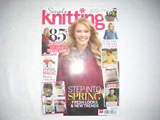 Simply Knitting Magazine Issue 119 Spring 2014 Step Into Spring