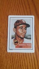 1990 HAMILTON COLLECTION # 220 SATCHELL PAIGE PORCELAIN ROOKIE REPRINT