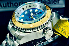 NEW Invicta Hydromax 52MM OCEAN VOYAGE LIMITED EDITION Wavy Blue Dial S.S Watch