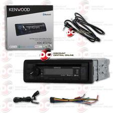 NEW KENWOOD KDC-BT275U 1DIN CAR CD BLUETOOTH PANDORA STEREO FREE 3.5mm AUX CABLE