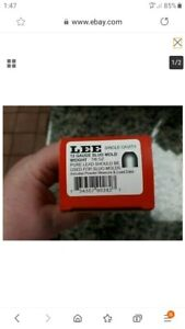 Lee 12 Gauge 7/8 ounce slug mold