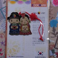 Metal Bookmark Korea Traditional Gracious Wedding Hanbok FreeShipping