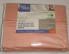 Better Homes &Gardens 400 Thread Count Performance 4pc Full Sheet Set 100%Cotton