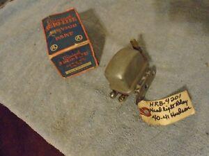 nos autolite headlight relay 1940 1941 hudson HRB4201