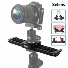 "Selens 11"" 28cm Mini Video Track Rail Slider For Camera Smart Phone Follow Focus"