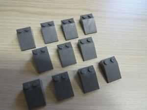 RC Eisenbahn TRAIN Lok Dach 6x4 4x6 GRAU-GRÜNLICH ROOF 2 Lego 9V