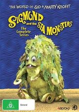 The World Of Sid And Marty Krofft Sigmund And The Sea Monsters DVD R4 New!
