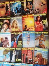 26 X Vintage Movie Maker Magazine 1960's 1970's 8mm Super 8