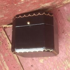 vintage black luxury ring box perfect engagement proposals or wedding