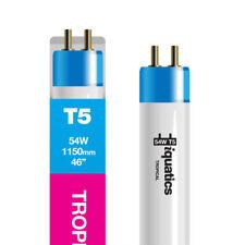 8 iQuatics Aquarium 54w T5 Bulb and One 39 Watt- Tropical -colour Enhancing