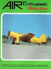 AIR ENTHUSIAST #33 MAY-AUG 87: SAAB AT 50/ WELLINGTON/ TURKISH MAGISTERS/ SUB AC
