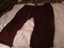 Natural Exchange by Alexander Lloyd  Burgundy Dress Pants 52/30 EUC Code 386