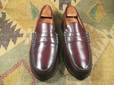 The Florsheim Shoe Berkley Oxblood Leather Penny Loafers size USA -9.5D
