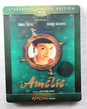 New Kimchi Exclusive Amelie Blu-Ray Steelbook Limited Edition Type C Korea