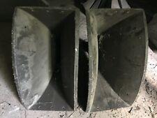 Rca/Altec Theatre Horns, Pair Mi-9594 w/ Throats ( for Mi-9584, 9448, Mi-12432 )