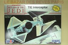 MPC.  STAR WARS.  TIE INTERCEPTOR.   Vintage kit 1983.