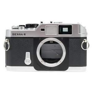 Voigtlander Bessa R Silver 35mm Film Rangefinder Camera