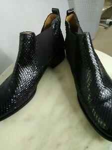 Gabor Snakeskin Boots Sz 71/2 Right & 61/2Left