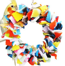 1468 CUDDLE RING BONKA BIRD TOY parrot cage toys cages parakeet cockatiel cozzy