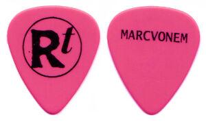 ROB THOMAS Guitar Pick : 2005 Tour Matchbox 20 Marc Von Em Pink