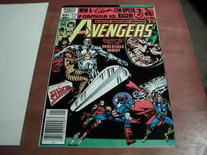 Avengers #215, (1981), Silver Surfer, Molecule Man App, Marvel Newsstand Ed