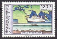 Djibouti Dschibuti 1997 Submarine Cable Ship, MNH, Sc 773, Mi 642, CV €85