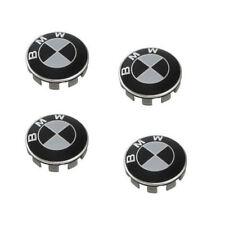 4Pcs Fits BMW 1 3 5 6 7 Black Wheel Center Hub Caps Emblem Cover Logo Badge 68MM