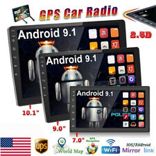 Double 2Din Android 9.1 Car Stereo Radio GPS Bluetooth 7'' Touch MP5 Player USB