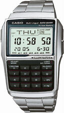 Casio Men's Databank Watch Dbc32d With Calculator