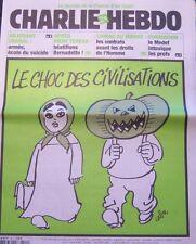 CHARLIE HEBDO N° 592 OCTOBRE 2003 CABU LE CHOC DES CIVILISATIONS