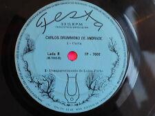 CARLOS DRUMMOND DE ANDRADE Pombo correio .. 33T 5 Titres FP7002 BRESIL