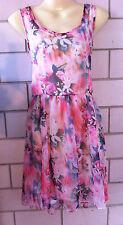 Polyester Floral Short Work for Women