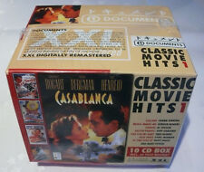 10 CD-Box * CLASSIC MOVIE HITS 1 * Casablanca *  Incl. 60 Page Booklet