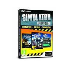 Salvage, Excavation and Transport Simulator Triple Pack Collection PC Brand New