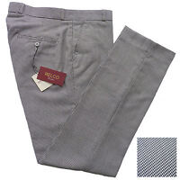 Relco Mens Dogtooth Sta Press Trousers NEW Mod Skin Ska Retro Vtg Stay Pressed
