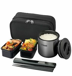 Tiger thermos thermal insulation lunch box stainless steel lunch jar bowl a
