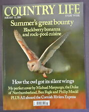 Country Life Magazine. August 13, 2014. Hoe the owl got it's silent wings.