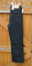 "Ladies Levi's Jeans Ribcage Cropped Flare Black Jeans Size 25"" Waist BNWTs"