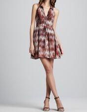 """*ON SALE* NEW ELIZABETH & JAMES SILK GEORGETTE OPEN BACK """"MOLLY"""" DRESS-$425-10"""