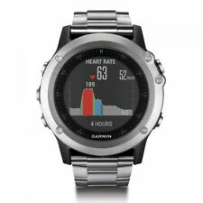 Garmin fenix 3 HR Multisport GPS with Titanium and Sport Bands 010-01338-76