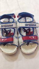 The amazing Spider-man - sandali da bambino - bianco - N° 30 - con velcro  USATE