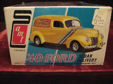 RARE Orig 69 Issue VTG '40 Ford Sedan 2in1 Model/Kit AMT USA 2540 Time Capsule!!