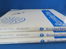 3 Packs of 100 24H Circular Charts for Abb Taylor-Kent P/N 00432187