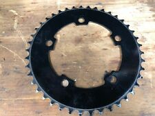 """Fixed Gear BMX Chainring 42T - 110 BCD Track Fixie single speed 1/8"""" - BLACK"""