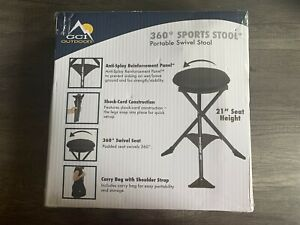 GCI Outdoors 360 Degree Swivel Portable Camping Stool