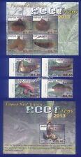 Briefmarken mit Pflanzen-Motiv aus Papua-Neuguinea