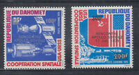 Dahomey 1976 Space Apollo Soyouz  Sc  C258-C259  Mint Lightly Hinged