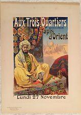 """PÉAN RENÉ """"LES TROIS QUARTIERS"""" 1899"""