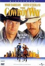 The Cowboy Way DVD R1 Woody Harrelson Kiefer Sutherland